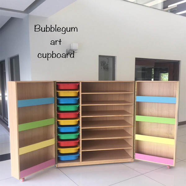 1 600x600 - Bubblegum art storage cupboard