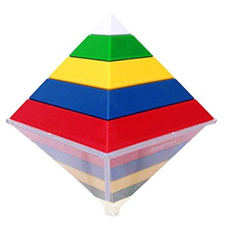 3 - Geometric Pyramid, Maths teaching resources kids