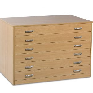 6 Drawer Plan Chest 2 300x300 - 6 Drawer Plan Chest