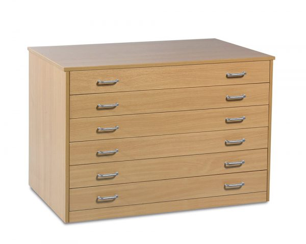 6 Drawer Plan Chest 2 600x479 - 6 Drawer Plan Chest