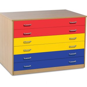 6 Drawer Plan Chest 300x300 - Portable Chick Easel