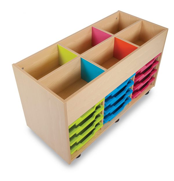 Bubblegum Kinderbox with 12 Shallow Trays 2 600x624 - Bubblegum Kinderbox with 12 Shallow Trays