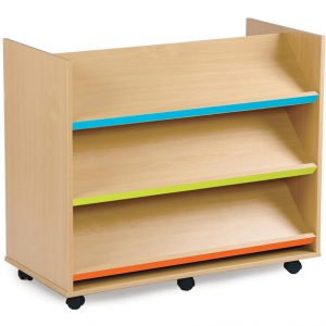 Bubblegum Library Book Trolley 300x300 - Bubblegum Kinderbox with 12 Shallow Trays