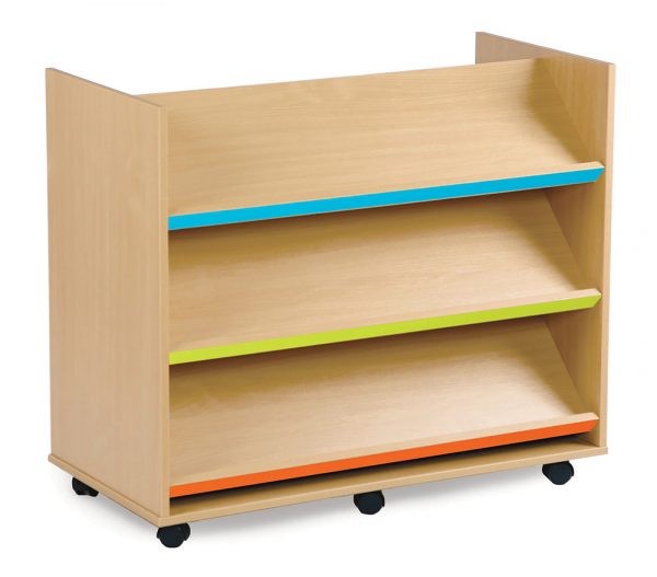 Bubblegum Library Book Trolley 600x527 - Bubblegum Library Book Trolley