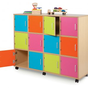 Bubblegum School Lockers 300x300 - Bubblegum Swivel Storage Tower