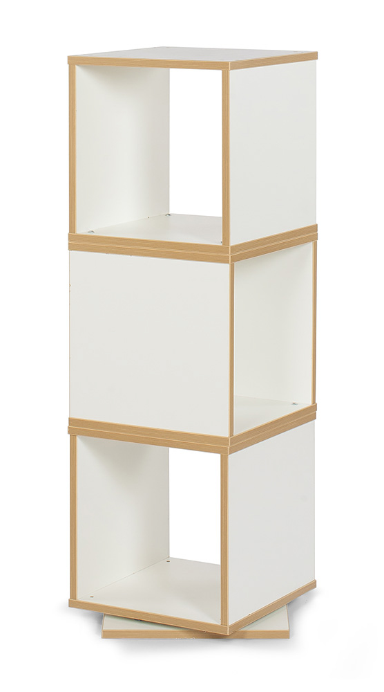 Bubblegum Swivel Storage Tower 3 - Bubblegum Swivel Storage Tower