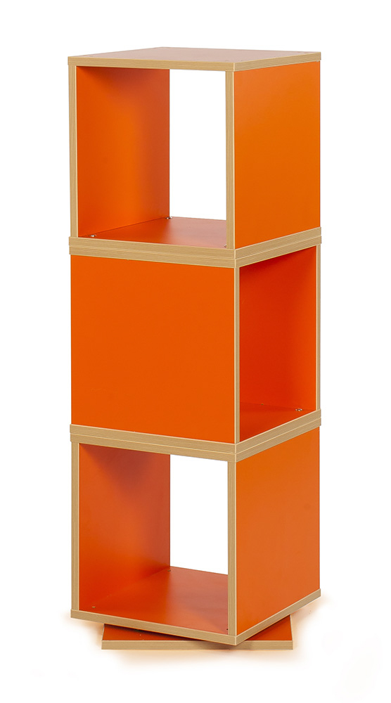 Bubblegum Swivel Storage Tower - Bubblegum Swivel Storage Tower