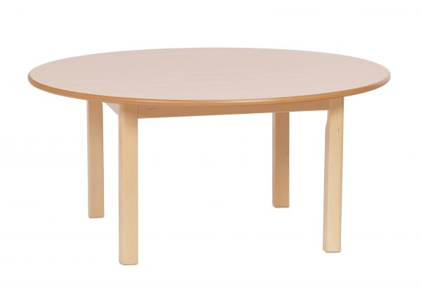 Circular Wooden Nursery Tables 600x424 - Circular Wooden Nursery Tables