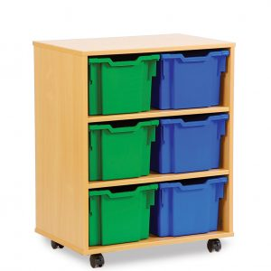 Extra Deep School Storage Trays 300x300 - Enviro Early Years Trapezoidal Table