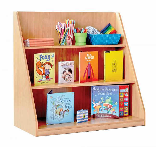School Library Shelving Unit 2 600x565 - School Library Shelving Unit