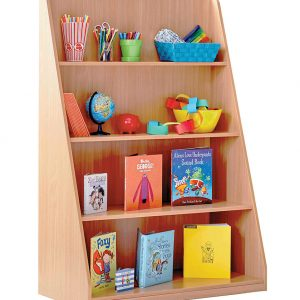 School Library Shelving Unit 300x300 - School Coat Hooks – Wall Mounted