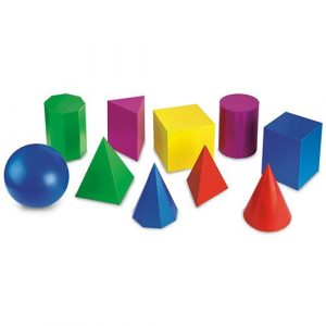 b86467cb3c487f86316b8e17b0fb4564 300x300 - Geometric Solids Plastic shapes with hole - Advanced Set - Set of 10