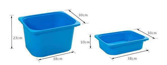 IMG 5475 - Tro Fast Storage  deep tubs(set of 4)