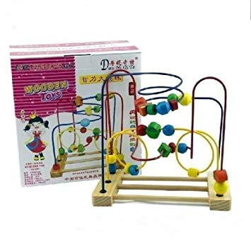 510xetGpkDL. SX355  - Large Round Beads Kids Play and learn