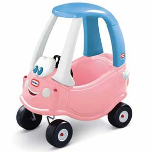 Princess cozy coupe - High Back Toddler Swing