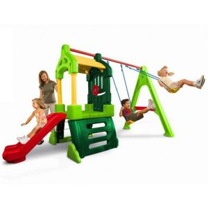 club house 300x300 - Clubhouse Swing Set Natural