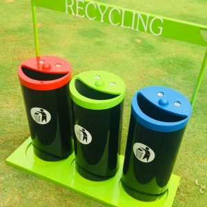 unnamed 300x300 - Novelty Smiley Face Recycling Bins(set of 3)with stand