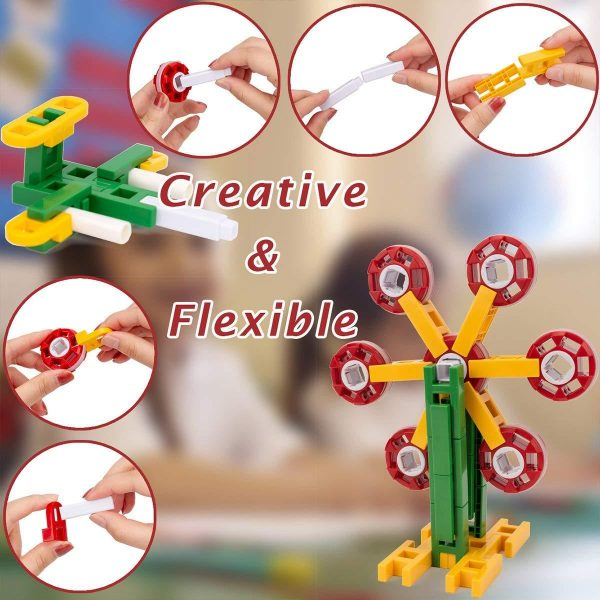 71MOSihAL7L. SL1200 1400x 600x600 - 208 PIECES of STEM LEARNING TOY
