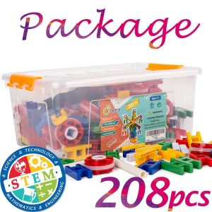 71rnD Kq2PL. SL1200 1400x 300x300 - 208 PIECES of STEM LEARNING TOY