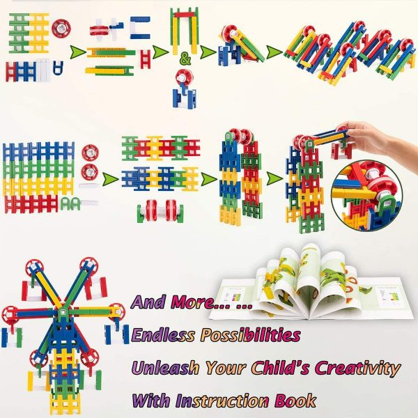 81SQmfOM12L. SL1200 1400x 600x600 - 208 PIECES of STEM LEARNING TOY