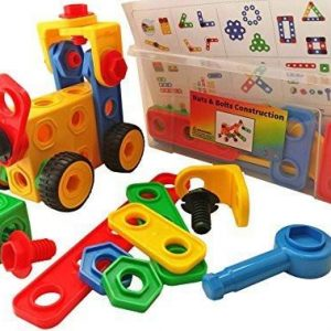 Nuts and Bolts Building 720x720 300x300 - Stick together blocks 42 Pcs