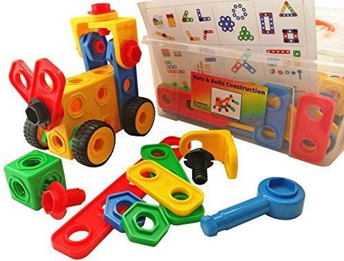 Nuts and Bolts Building 720x720 - Nuts & Bolts construction toys 88Pcs