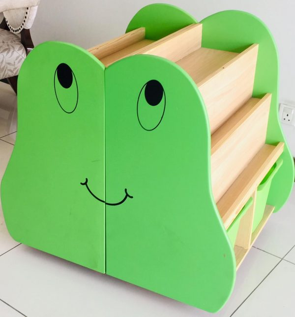 c7077549 bcb0 4e4b 8a3a a8e33375db69 600x643 - Frog Book shelf (set of 2)