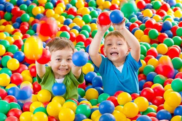 Indoor Play Areas 600x400 - Round commercial Ball Pit for indoor use of kids