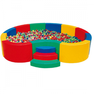 as 300x300 - Round commercial Ball Pit for indoor use of kids