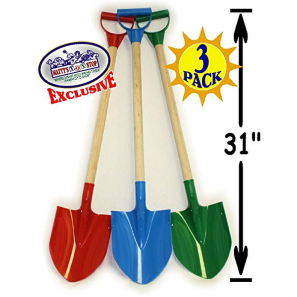 Untitled 2 600x600 - Wood handle  plastic  sand shovel(set of 3)