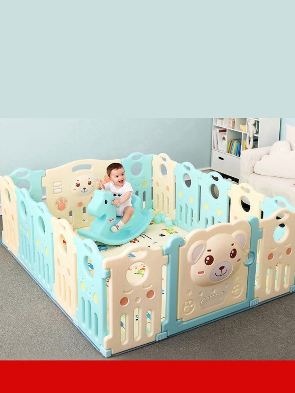 2 600x800 - Baby Playpens(Fence) in Candy Colours