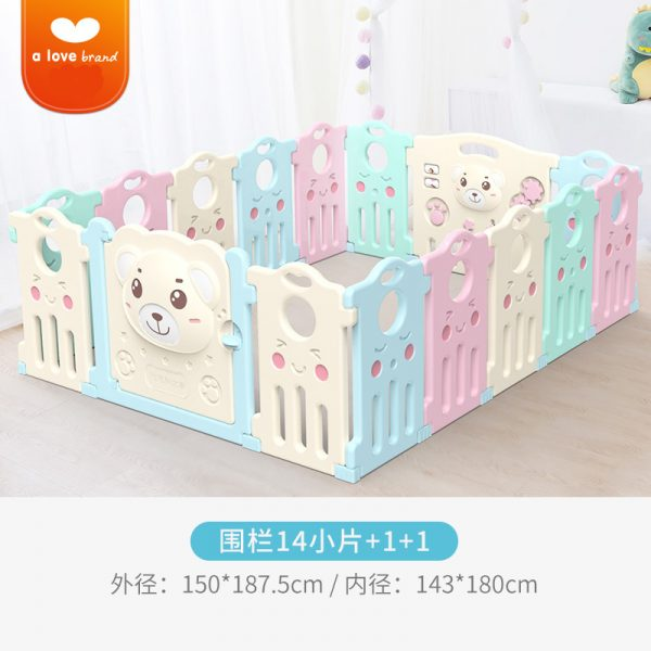 3 600x600 - Baby Playpens(Fence) in Candy Colours