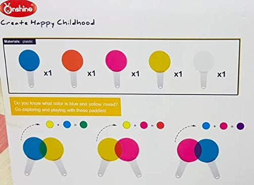 41meHcwgoeL - My First Color Mixing Game Colour Game for Kids Colour Recognition