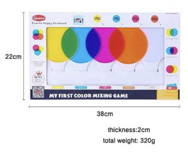 616JxodFuYL. SL1242  600x485 - My First Color Mixing Game Colour Game for Kids Colour Recognition