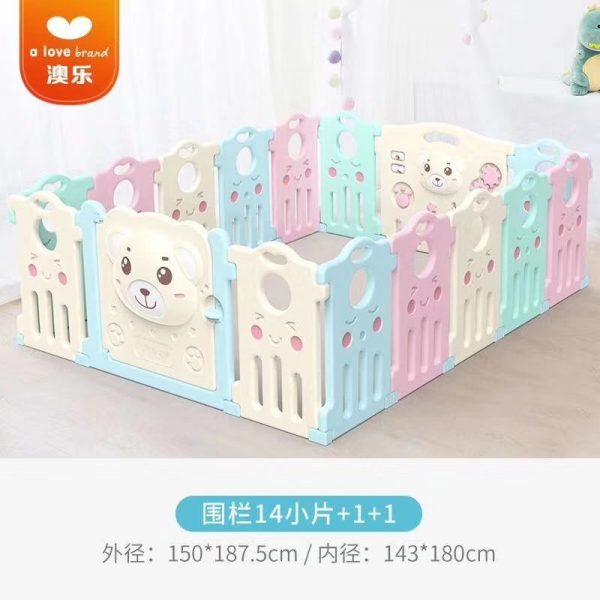7 600x600 - Baby Playpens(Fence) in Candy Colours