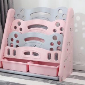 763f34b5 ed93 4a05 9a4b e333072003fb 300x300 - Pastel Magazine Rack with tubs