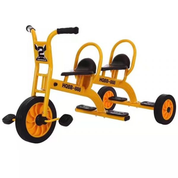 rs 8500 600x600 - Yellow Tricycle with two seats