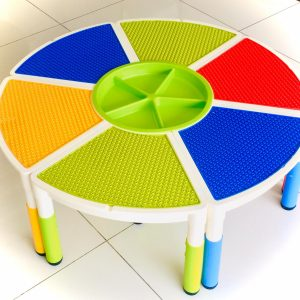 WhatsApp Image 2019 11 29 at 11.24.39 300x300 - KIDS TABLE SET ROUND LEGO BLOCKS ACTIVITY CENTER PLAY
